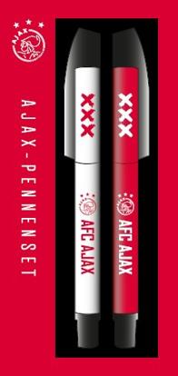 Afbeeldingen van Ajax 2-pack Pennenset