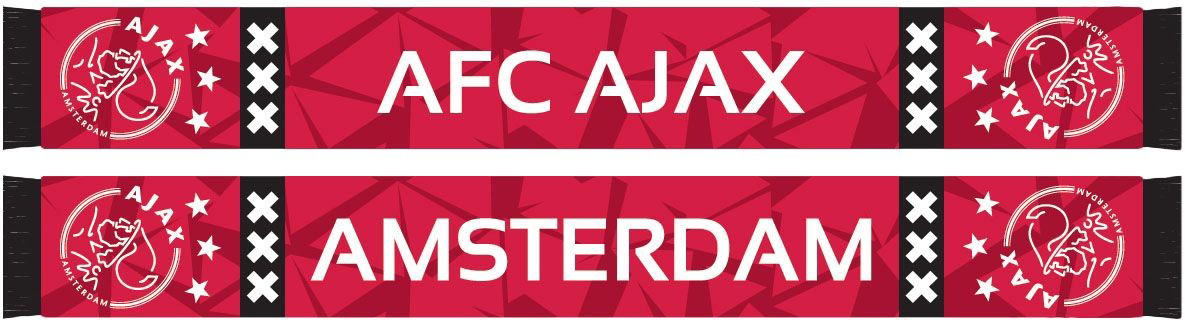 Afbeeldingen van Ajax Sjaal Camo - rood