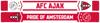 Afbeeldingen van Ajax Sjaal - Logo + Wapen - rood/wit