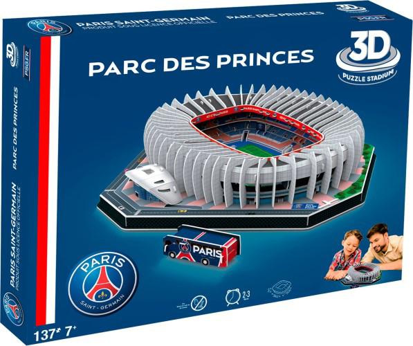 Afbeeldingen van Paris Saint Germain 3D Puzzel - Parc des Princes stadion