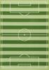 Afbeeldingen van Vloerkleed Football/Voetbal (20414) - extra groot