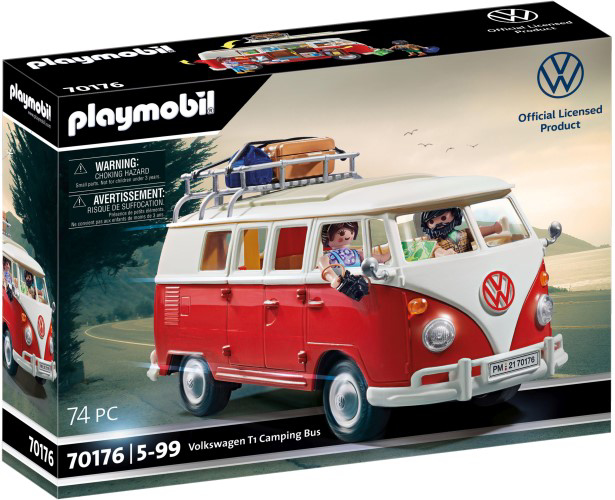 Afbeeldingen van Playmobil Volkswagen T1 Campingbus (70176)