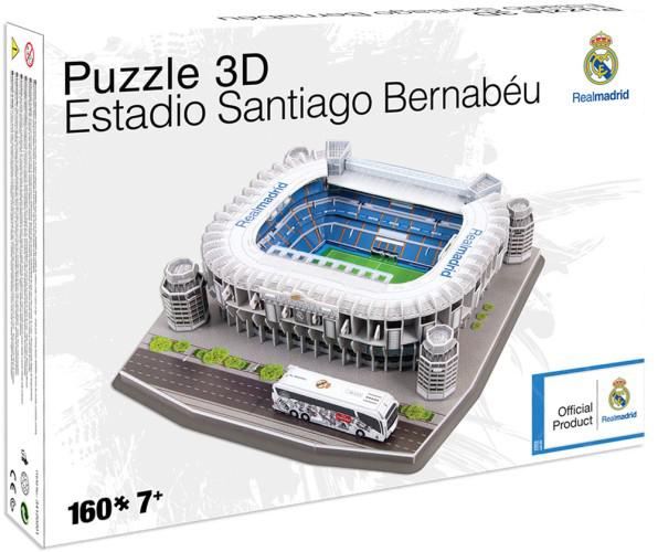 Afbeeldingen van Real Madrid 3D Puzzel Santiago Bernabéu