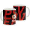 Afbeeldingen van PSV Mok EHV - zwart / rood